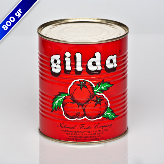 Gilda - Canned Tomato Paste - Products   National Foods Company